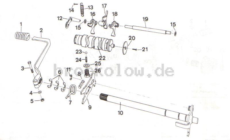 4.07. Getriebe- Schalteinrichtung