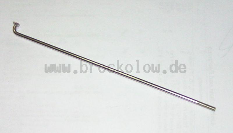 Speiche CM3x142, vernickelt TGL 39- 491, für Batterie 9 Ah