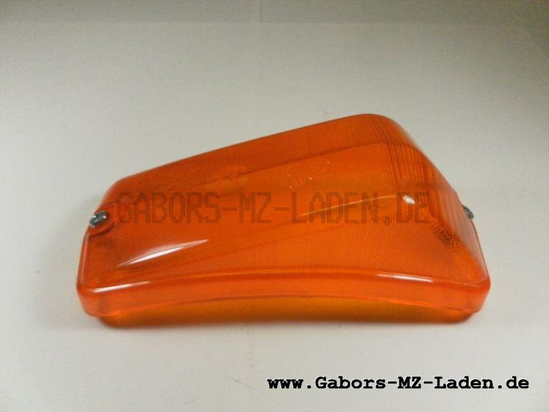 Blinkleuchtenglas 8580.22/1-30 orange Wartburg 353
