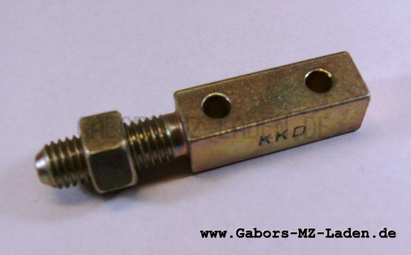 KKD Adapter für Simson Sr50 Hängerankupplung KK25 (zur Nutzung MKH/M3 am SR50)