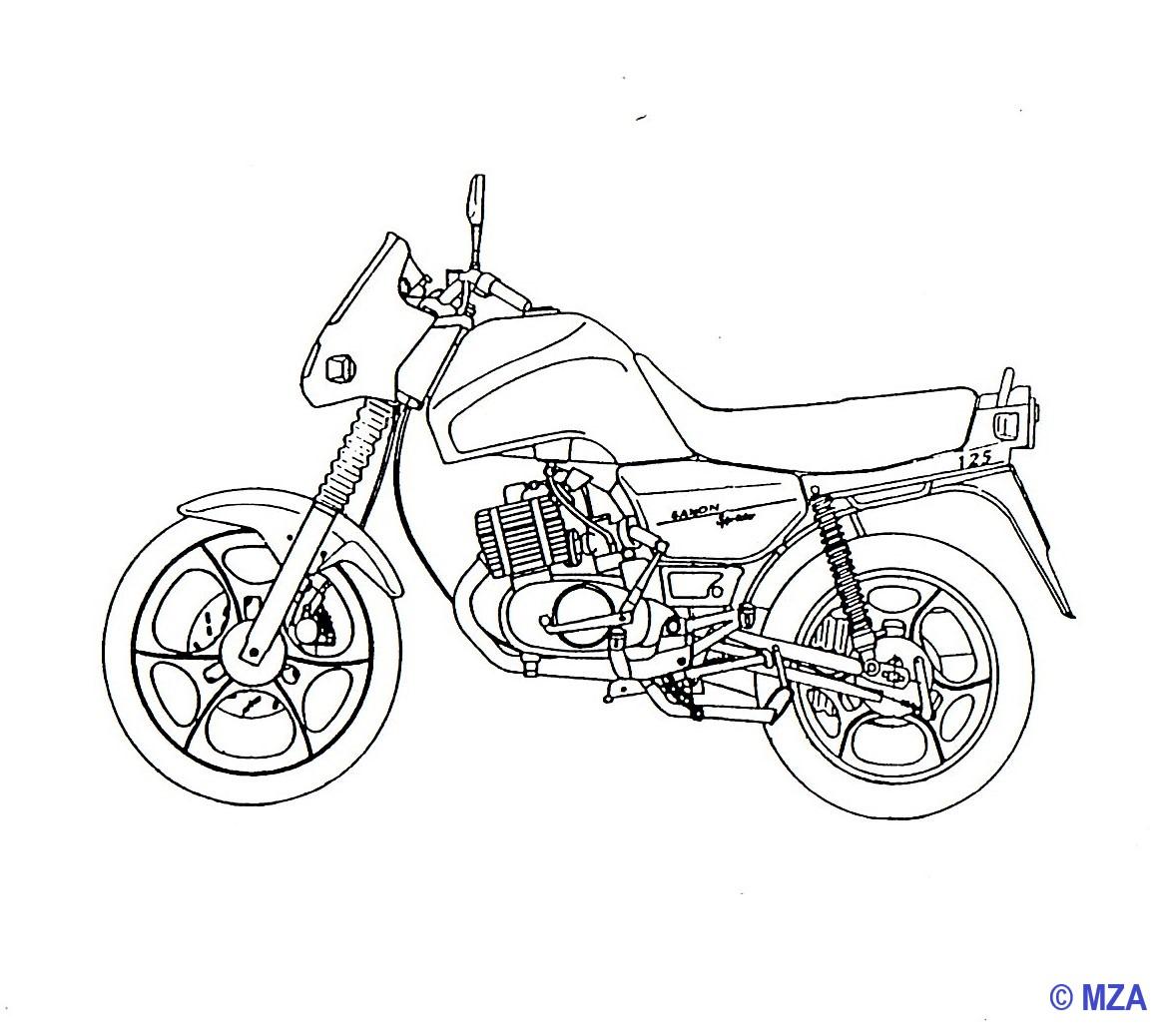 Saxon 125/150