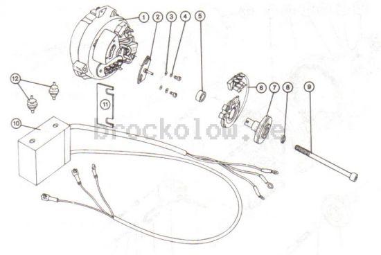 3.8.1. Elektronische Zündung, alte Ausführung
