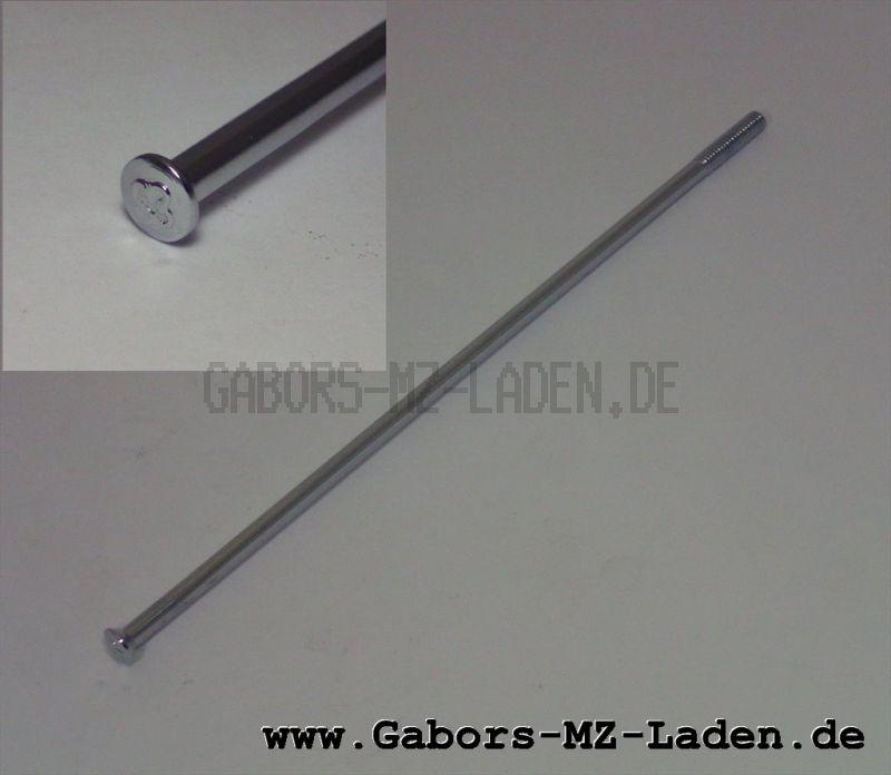 WWS Speiche M4-148 mm, chrom