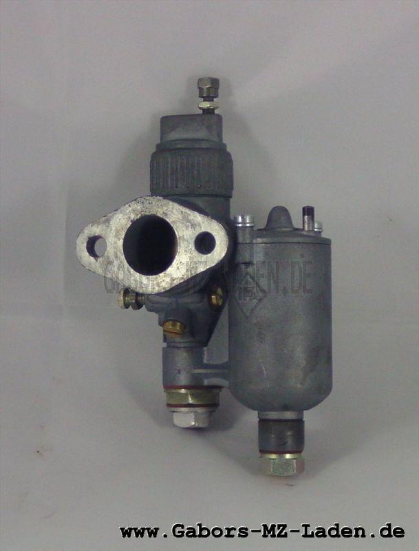 Vergaser 22KN2-1 (AWO/T) regeneriert, umgebaut von Flachschieber auf Rundschieber