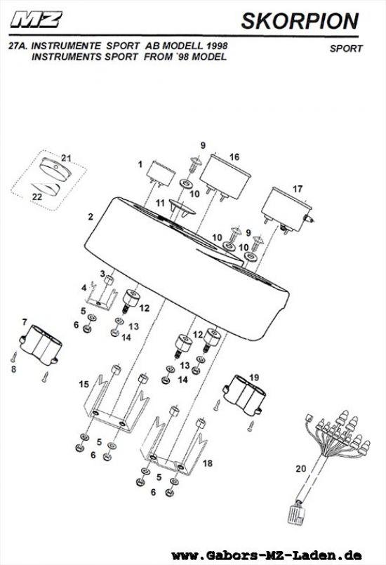 27A. Instrumente (ab Modell 1998)