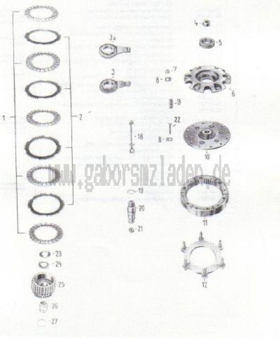 06. Kupplung (ab Motornr. 2108260/4005103)