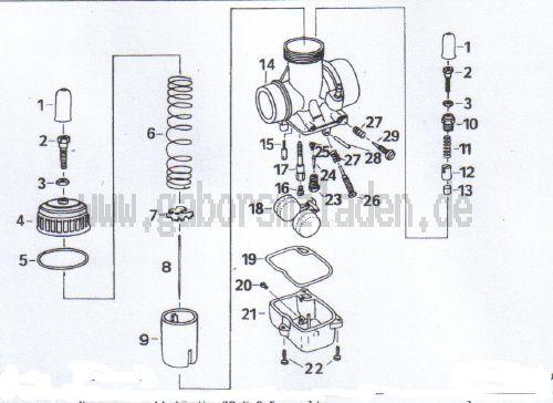 4.09 Vergaser BVF 30N2-5