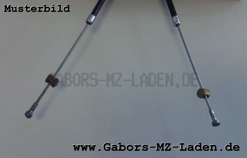 Bowdenzug/Seilzug Handbremse flach TS 125 150 250 250/1 ES 125 150 125/1 150/1 ETS 125/1 150/1