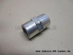 Rohrverbindungsstutzen  M10x1 TGL 29985/06
