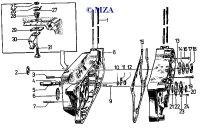 01 Motor und Motorgehäuse