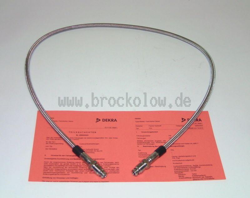 Stahlflex-Bremsleitung  725mm