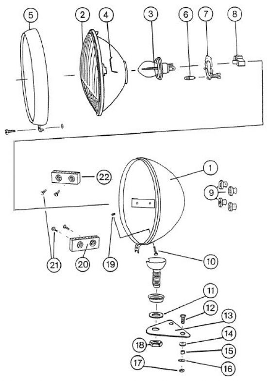 3.01 Elektrik - Scheinwerfer 1