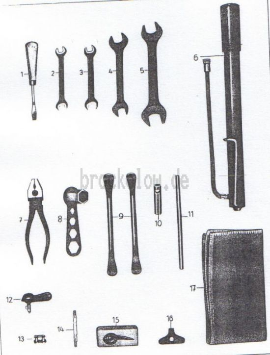 20. Werkzeug
