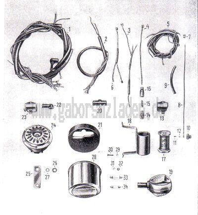 12 Kombinierte Schlußleuchte, Signalhorn, Blinkleuchten