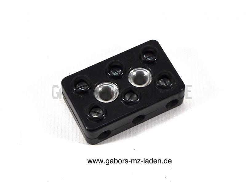Leitungsverbinder B3 DIN 72586 Bakelit zum Schrauben