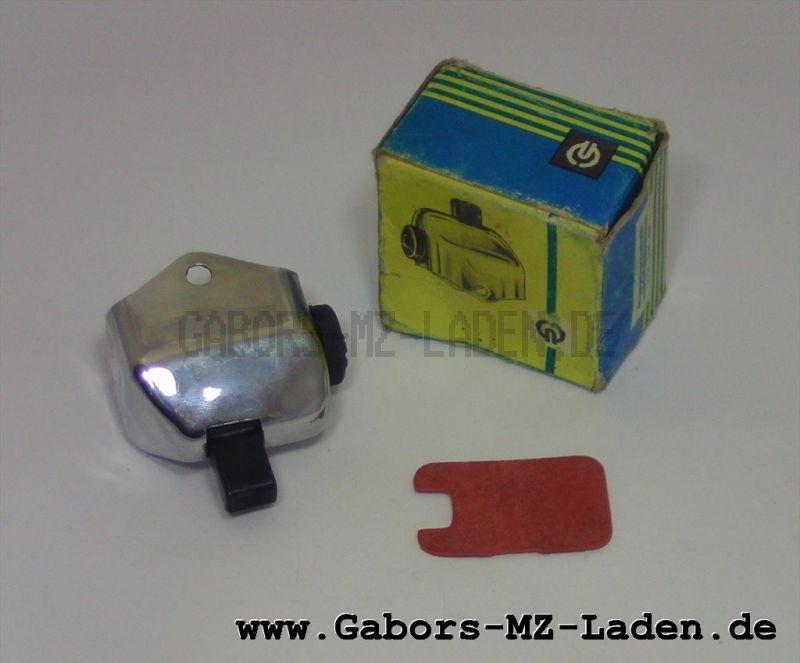 Schalter für Blinkanlage, Chrom