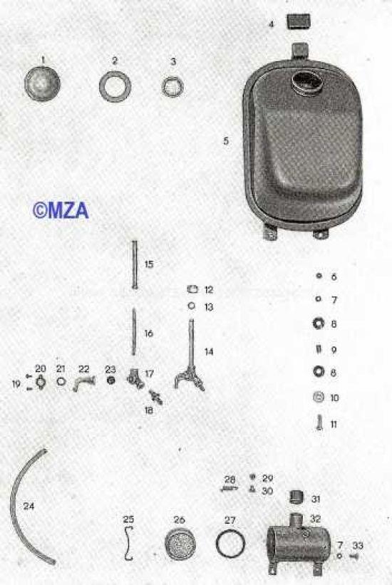 06. Kraftstoffbehälter, Ansauggeräuschdämpfer