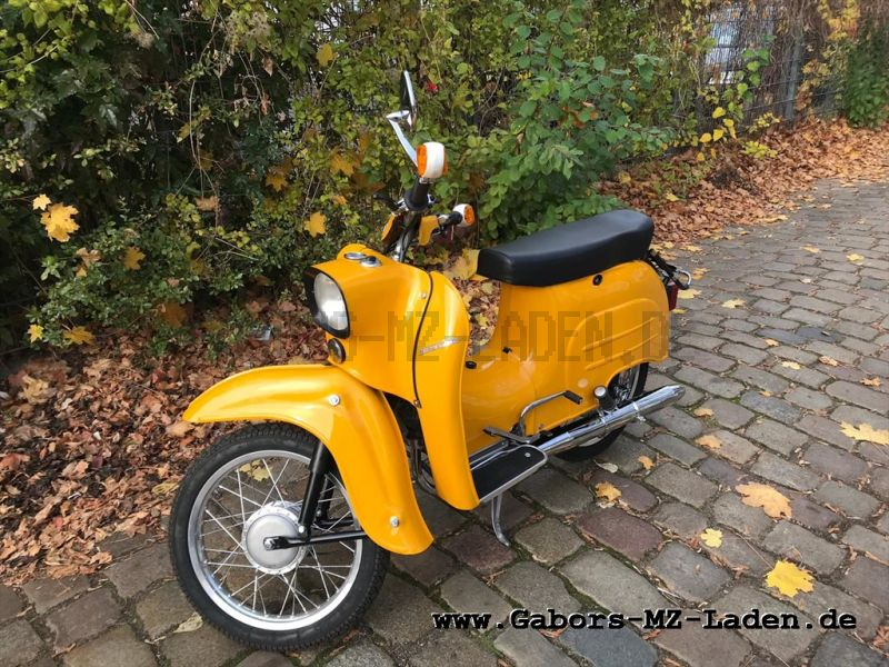 Simson KR51/1 year of const. 1975, yellow, restored