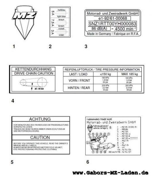 F26. Klebefolien