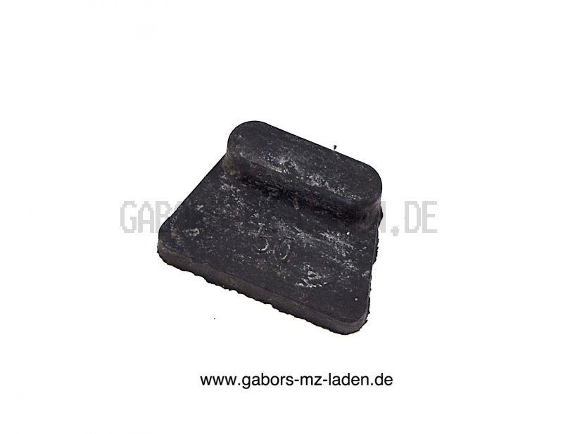 1x Gummi-Auflagekörper für Verkleidung rechts (Seitendeckel) - für ETZ