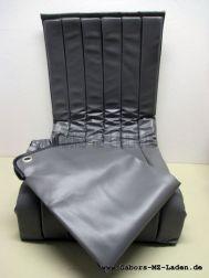 Oldalkocsi ülés Superelastik szürke + eső és kosz védő takaróval