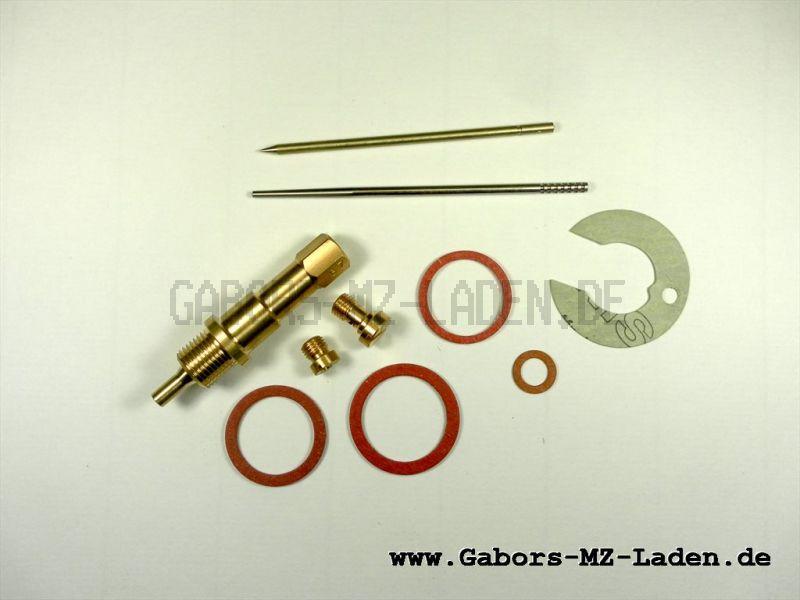 Vergaserreparatursatz 24KN1-2 MZ ES150 für Rundschieber Vergaser