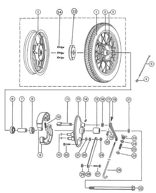 2.11 Fahrgestell Hinterrad