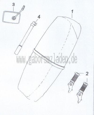 14. Sitzbank,Zubehör,  Werkzeuge