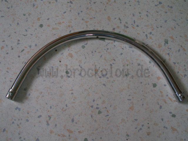 Haltebügel Aluminium poliert