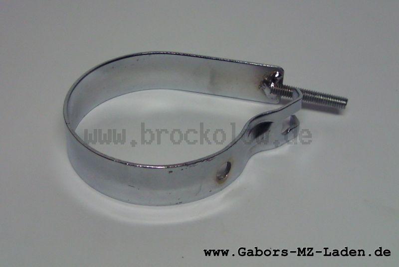 Trageschelle hinten mit Gewindebolzen SR4-2 (alterTyp) chrom