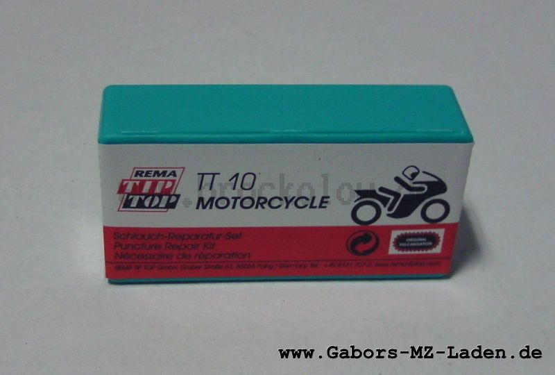 Box for tyre repair