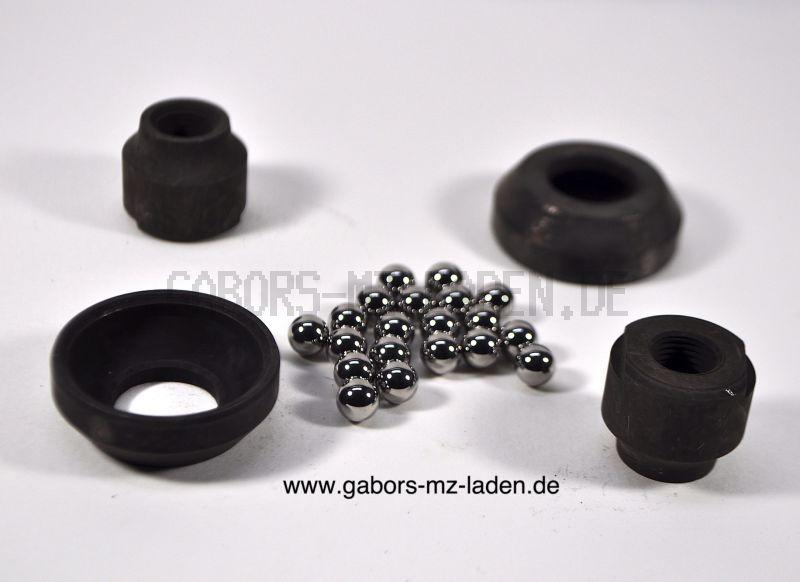Radlagersatz (mit Lagerschale mit Konus Ø10) 24-teilig, SR1, SR2, KR50 Optima-Nabe