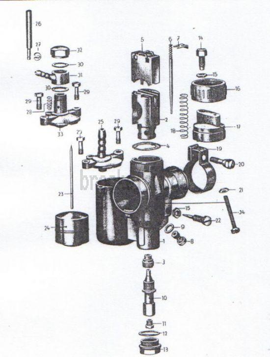 05. Vergaser- Einzelteile