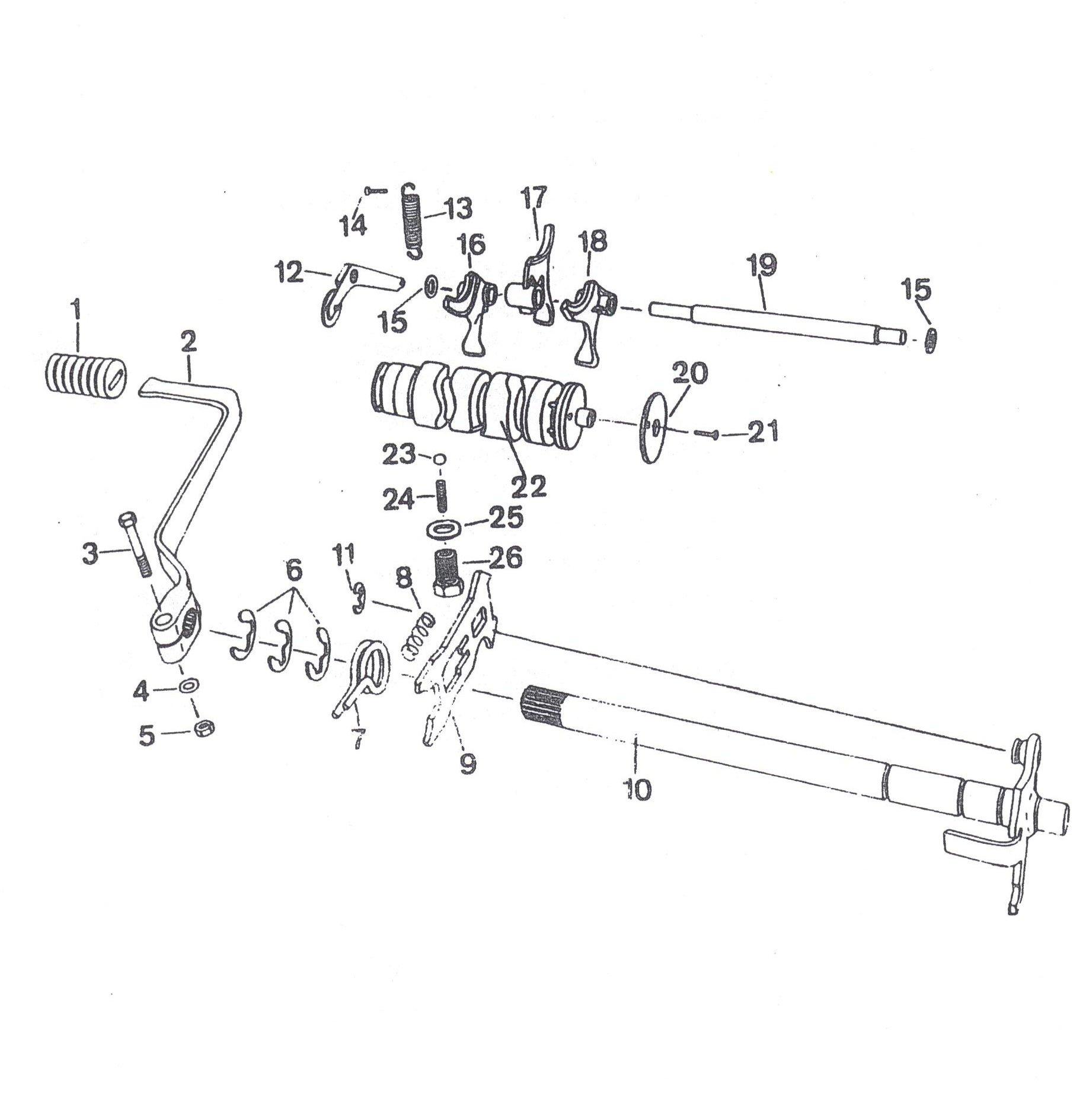 Getriebe - Schalteinrichtung