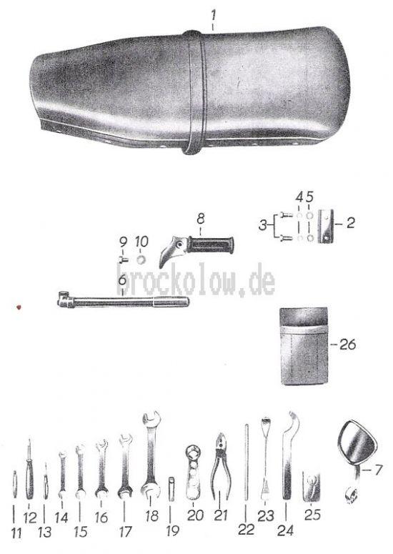 19 Sitzbank, Werkzeug, Zubehör