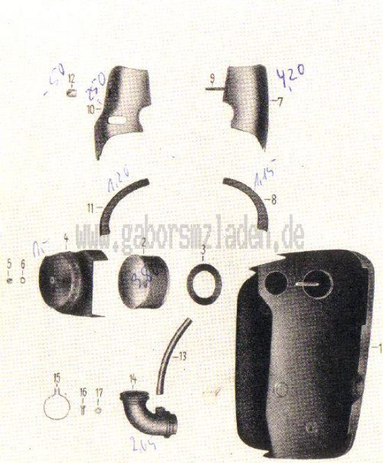 06. Ansauggeräuschdämpfer, Luftfilter