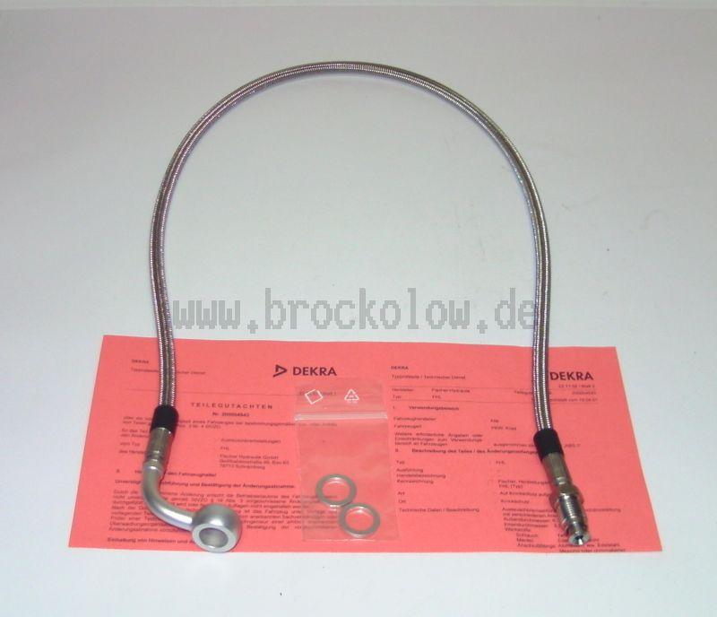 Stahlflex-Bremsleitung  700mm