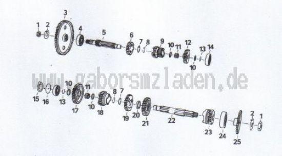 4.08 Getriebe- Räder und Wellen