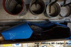ETZ 300 blau Gespann restauriert