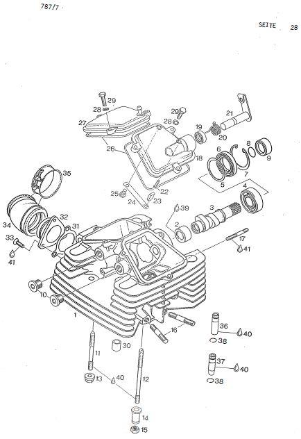 6.29 Motor, Zylinderkopf, Nockenwelle
