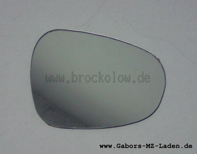 Spiegelglas (Nierenform) 104x87 mm