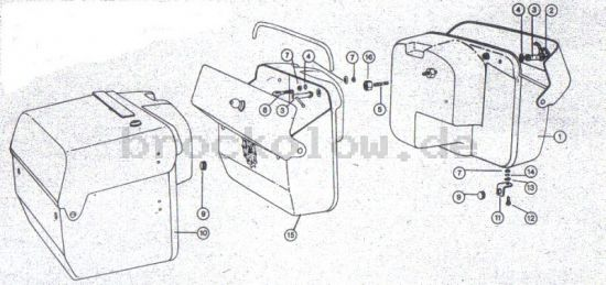 2.23. Fahrgestell - Seitentaschen