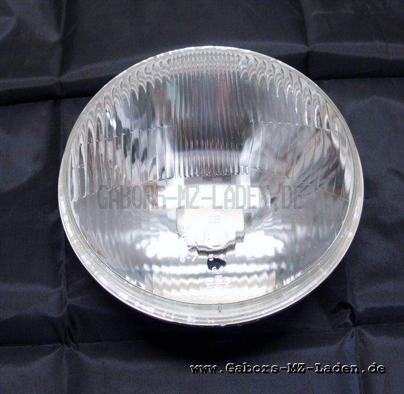 Scheinwerfereinsatz 8709.18/2 (rechtsasymmetrisch) Bilux, hoher Rand für ES 250/2 , Trabant 601