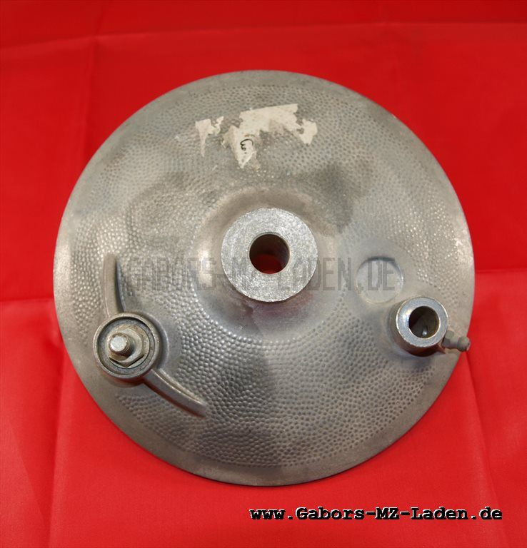 Gegenhalter, solo - f. Trommelbremse hinten ø 160mm - mit Bolzen - pass. f. MZ ETZ 251/301