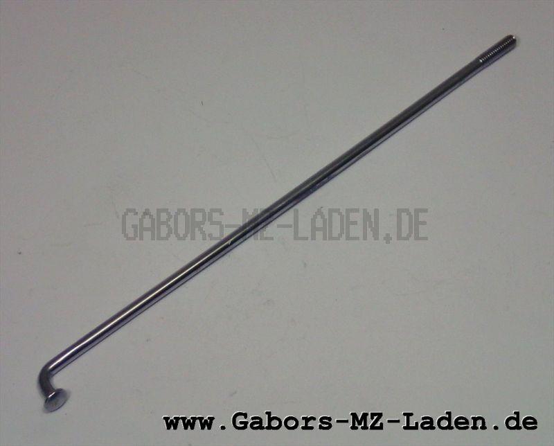 Speiche verchromt M3,5x143,5 mm für Simson