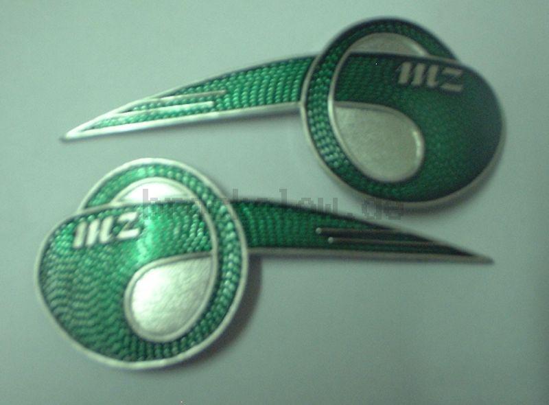MZ-Flügel, Paar klein geschwungen