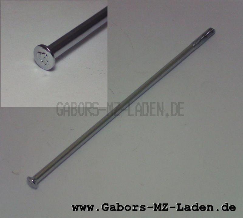 WWS Speiche M4-121 mm, chrom