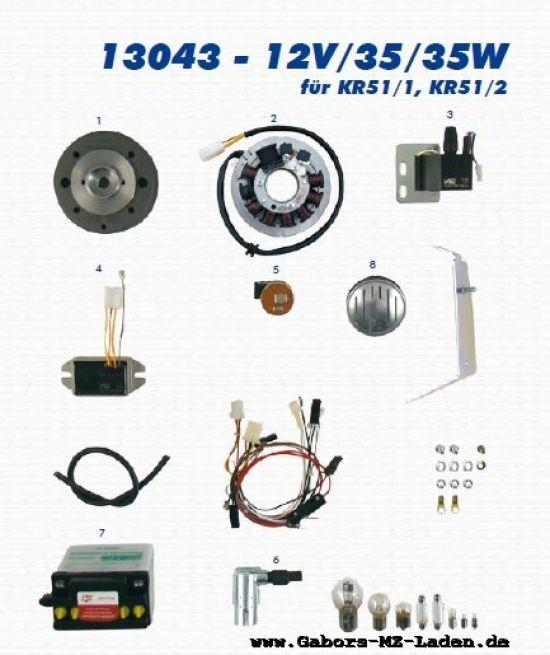 Elektrik - VAPE Lichtmagnetzündanlage 13043 12V35/35W