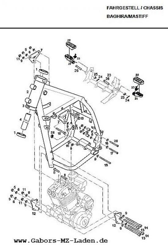 F01. Rahmen vorn