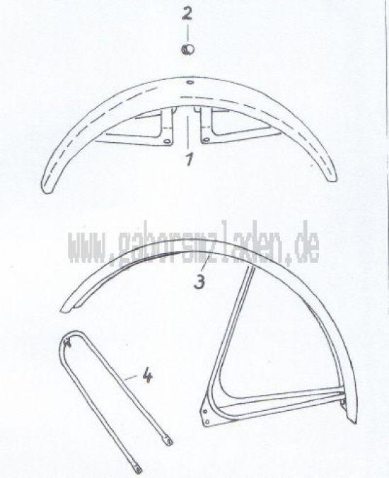 11. Vorderradkotflügel